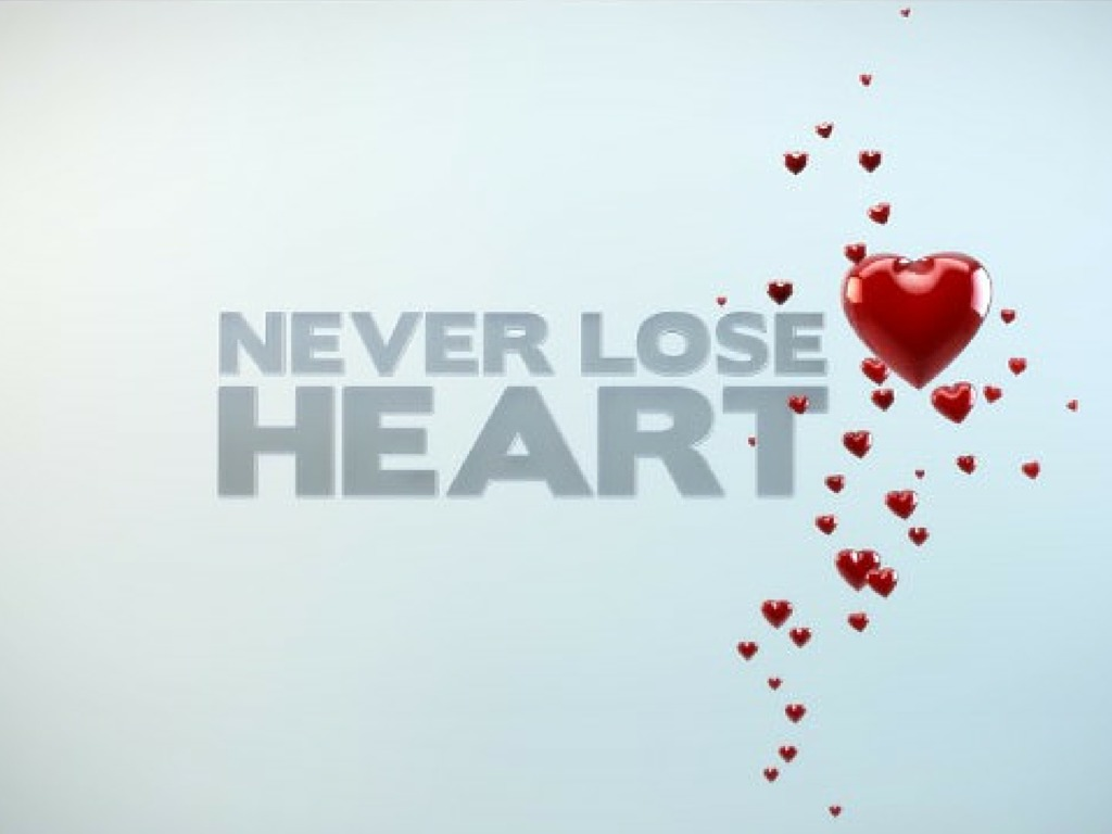Definition of 'lose heart'